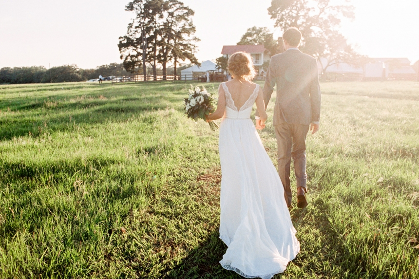 Stunning Texas Ranch Wedding Scene